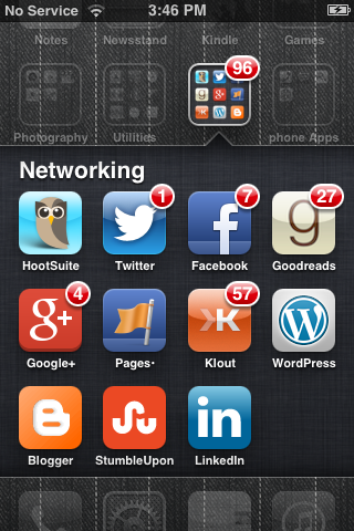 My iPhone Apps that keep me in the loop 24/7.